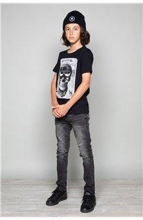 T-Shirt T-SHIRT CLEM Boy W18124B (37617) - DEELUXE-SHOP