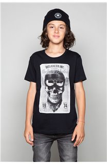 T-Shirt T-SHIRT CLEM Boy W18124B (37620) - DEELUXE-SHOP