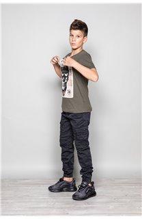 T-Shirt T-SHIRT CLEM Boy W18124B (37622) - DEELUXE-SHOP