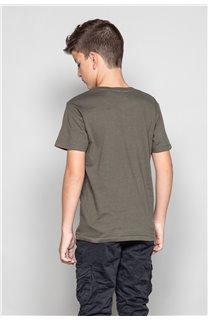 T-Shirt T-SHIRT CLEM Boy W18124B (37625) - DEELUXE-SHOP