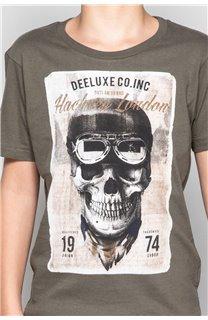 T-Shirt T-SHIRT CLEM Boy W18124B (37626) - DEELUXE-SHOP