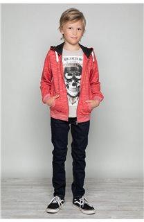T-Shirt T-SHIRT CLEM Boy W18124B (37627) - DEELUXE-SHOP