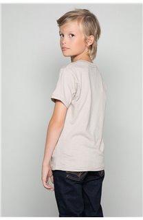 T-Shirt T-SHIRT CLEM Boy W18124B (37628) - DEELUXE-SHOP