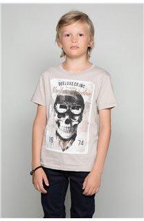 T-Shirt T-SHIRT CLEM Boy W18124B (37630) - DEELUXE-SHOP
