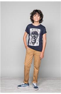 T-Shirt T-SHIRT CLEM Boy W18124B (37632) - DEELUXE-SHOP