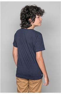 T-Shirt T-SHIRT CLEM Boy W18124B (37633) - DEELUXE-SHOP