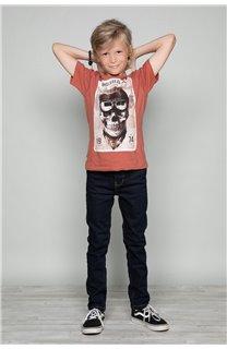 T-Shirt T-SHIRT CLEM Boy W18124B (37637) - DEELUXE-SHOP