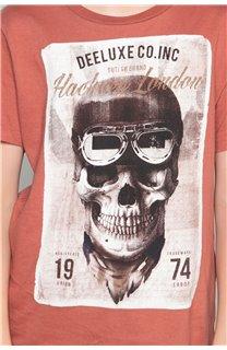 T-Shirt T-SHIRT CLEM Boy W18124B (37641) - DEELUXE-SHOP