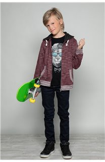 Sweatshirt Sweatshirt NEWSTEP Boy W18552B (37662) - DEELUXE-SHOP