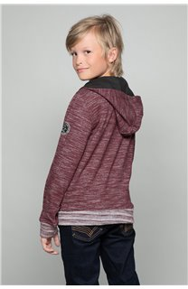 Sweat NEWSTEP Garçon W18552B (37663) - DEELUXE