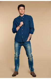 Shirt Shirt POLOMA Man W18428 (37759) - DEELUXE-SHOP