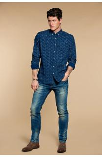 Shirt Shirt POLOMA Man W18428 (37760) - DEELUXE-SHOP