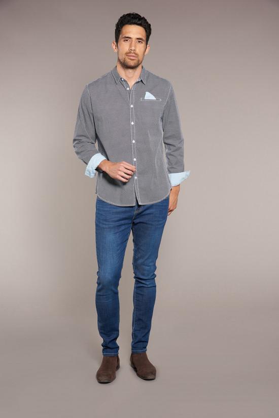 Shirt Shirt ROBINSON Man W18426 (37769) - DEELUXE-SHOP
