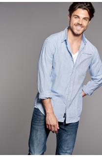 Shirt Shirt QUEST Man W18411 (37777) - DEELUXE-SHOP