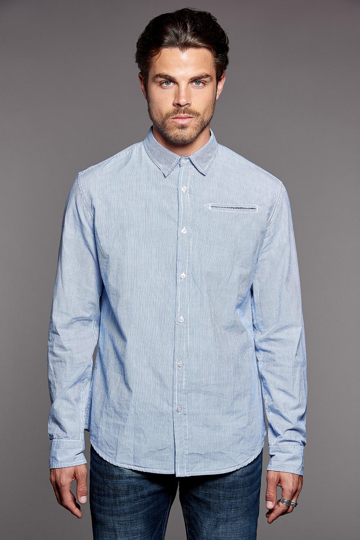 Shirt Shirt QUEST Man W18411 (37778) - DEELUXE-SHOP
