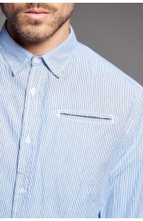 Shirt Shirt QUEST Man W18411 (37780) - DEELUXE-SHOP