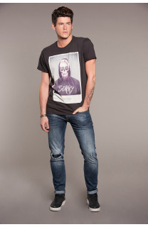 T-Shirt JUST Homme W18143 (37872) - DEELUXE