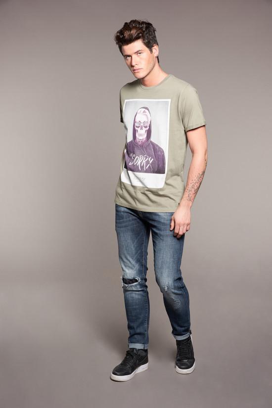 T-shirt JUST Man W18143 (37870) - DEELUXE-SHOP