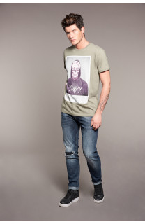 T-Shirt JUST Homme W18143 (37877) - DEELUXE