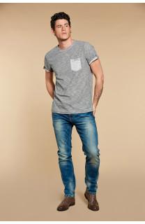 T-Shirt WYATT Homme W18194 (37887) - DEELUXE
