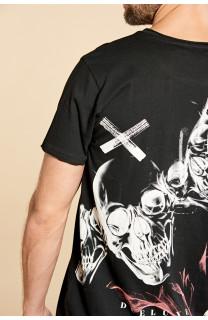 T-shirt T-shirt SKULLFLOWER Man W18165 (37977) - DEELUXE-SHOP