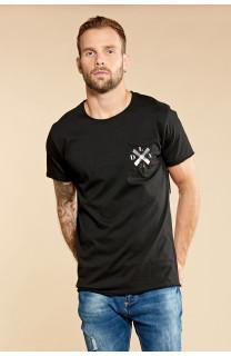 T-Shirt SKULLFLOWER Homme W18165 (37979) - DEELUXE
