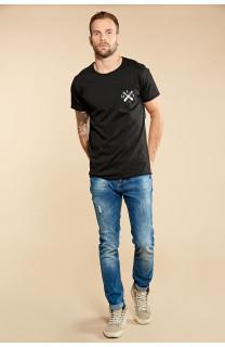 T-Shirt SKULLFLOWER Homme W18165 (37980) - DEELUXE
