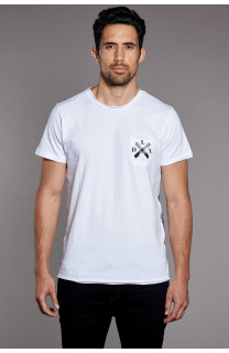 T-Shirt SKULLFLOWER Homme W18165 (37982) - DEELUXE