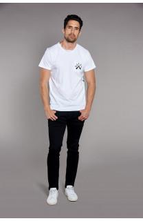 T-shirt T-shirt SKULLFLOWER Man W18165 (37985) - DEELUXE-SHOP