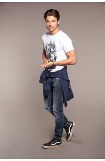 T-shirt T-shirt ENFIELD Man W18188 (38026) - DEELUXE-SHOP