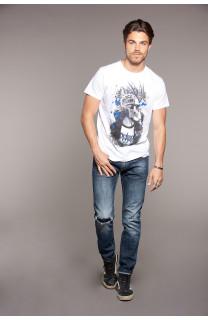 T-shirt T-shirt ENFIELD Man W18188 (38030) - DEELUXE-SHOP
