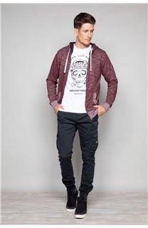 Sweatshirt Sweatshirt NEWSTEP Man W18552 (38048) - DEELUXE-SHOP
