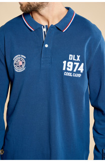 Polo shirt Polo shirt LEAVING Man W18206 (38136) - DEELUXE-SHOP