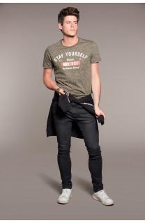 T-Shirt POLLOCK Homme W18167 (38178) - DEELUXE