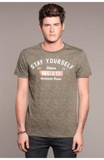 T-Shirt POLLOCK Homme W18167 (38181) - DEELUXE