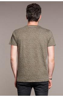 T-Shirt POLLOCK Homme W18167 (38182) - DEELUXE