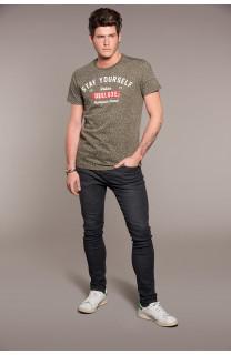 T-Shirt POLLOCK Homme W18167 (38183) - DEELUXE