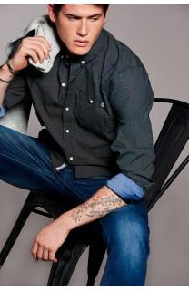 Shirt Shirt MURRAY Man W18429 (38234) - DEELUXE-SHOP