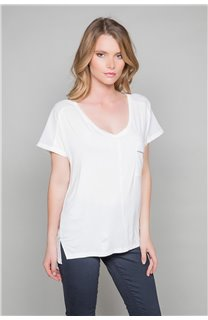 T-shirt AMY Woman W18101W (38286) - DEELUXE-SHOP