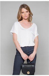 T-Shirt AMY Femme W18101W (38288) - DEELUXE