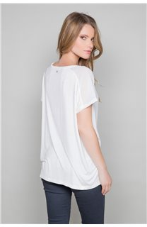 T-shirt AMY Woman W18101W (38289) - DEELUXE-SHOP