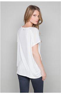 T-Shirt AMY Femme W18101W (38289) - DEELUXE