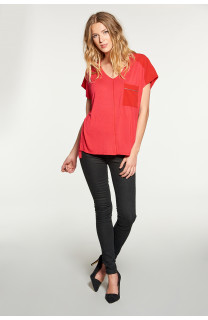 T-shirt AMY Woman W18101W (38291) - DEELUXE-SHOP