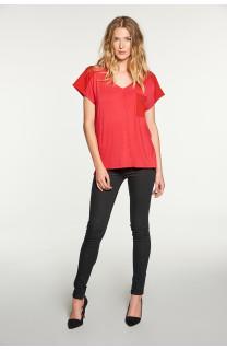 T-Shirt AMY Femme W18101W (38292) - DEELUXE