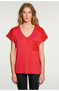 T-shirt AMY Woman W18101W (38293) - DEELUXE-SHOP