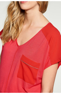 T-Shirt AMY Femme W18101W (38295) - DEELUXE