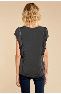 T-shirt T-shirt JUNE Woman W18109W (38313) - DEELUXE-SHOP