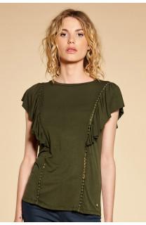 T-shirt T-shirt JUNE Woman W18109W (38315) - DEELUXE-SHOP