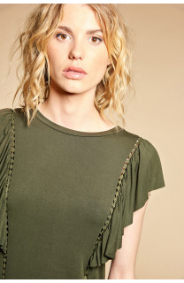 T-shirt T-shirt JUNE Woman W18109W (38319) - DEELUXE-SHOP