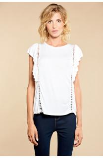 T-shirt T-shirt JUNE Woman W18109W (38322) - DEELUXE-SHOP